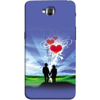FUSON Designer Back Case Cover for LG G Pro Lite :: LG Pro Lite D680 D682TR :: LG G Pro Lite Dual :: LG Pro Lite Dual D686 (Couple Enjoying Beautiful Sunrise Red Hearts Sunshine)