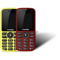 Forme N5+(Combo Of 2 Selfie Phones) Red+Black With Yell