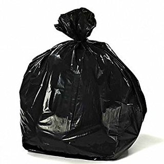 150pcs 19X21 Disposable Garbage / Dust Bin Bag - Black