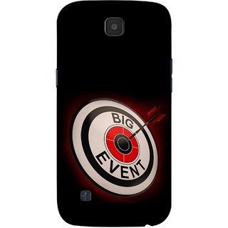 FUSON Designer Back Case Cover for LG K3 ::  LG K3 Dual K100 LS450 (Big Event Bulls Eye Arrow Target Sign Bang On)