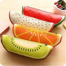 Colorful Fruit Design Utility Pouch (1 Piece)