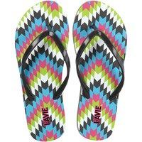 Lavie Women's Gray Flip Flops