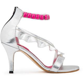Maia Women's Silver Heels
