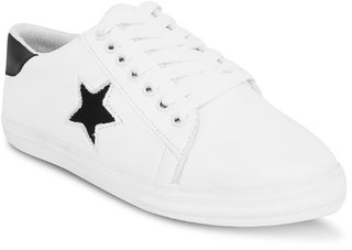 Moonwalk Women's White Smart Casuals