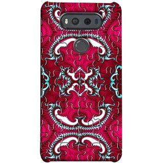 FUSON Designer Back Case Cover for LG V20 Dual H990DS :: LG V20 Dual H990N (Best Wallpaper Red Dark Shade Table Design Artwork)