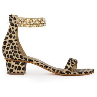 Cece Animal Print Women's Sandal