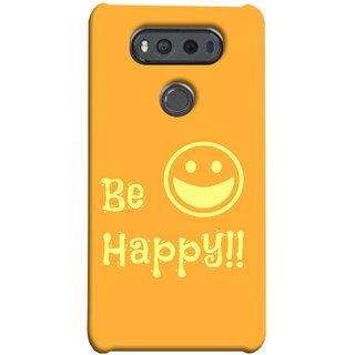 FUSON Designer Back Case Cover for LG V20 Dual H990DS :: LG V20 Dual H990N (Big Smile Best Wallpapers Inspiration Quote)