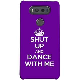 FUSON Designer Back Case Cover for LG V20 Dual H990DS :: LG V20 Dual H990N (Beautiful Music Musical Enjoy Party Good To Shut)