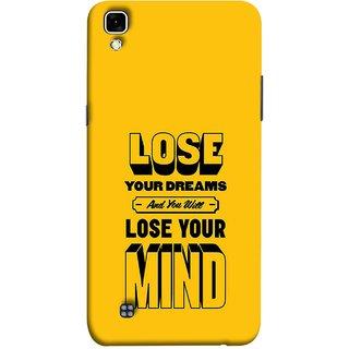 FUSON Designer Back Case Cover for LG X Power :: LG X Power K220DS K220 (Lose Your Mind Sapne Khatam To Dimag Bhi Khatam)