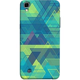 FUSON Designer Back Case Cover for LG X Power :: LG X Power K220DS K220 (Hexagonal Shape Abstract Pattern Geometric Shapes )