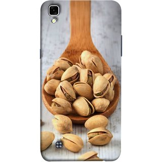 FUSON Designer Back Case Cover for LG X Power :: LG X Power K220DS K220 (Pistachios With Shell In Spoon ThatS Lot Of Nuts Energy )