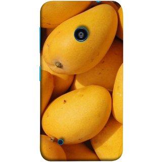 FUSON Designer Back Case Cover for Nokia Lumia 530 :: Nokia Lumia 530 RM 1017 :: Nokia Lumia 530 Dual SIM :: Microsoft Lumia 530 Dual (Jungle Sweet Villages Fruits Hapoos Langda )