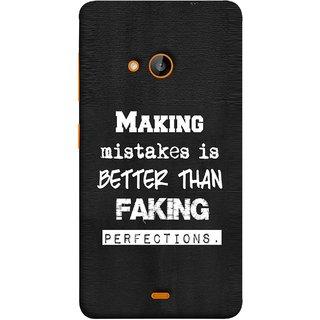 new product 4d8dc 91a54 FUSON Designer Back Case Cover for Microsoft Lumia 535 :: Microsoft Lumia  535 Dual SIM :: Nokia Lumia 535 (Motivational Inspirational Saying Quotes  ...