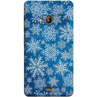 FUSON Designer Back Case Cover for Microsoft Lumia 535 :: Microsoft Lumia 535 Dual SIM :: Nokia Lumia 535 (Different Size Winter Snow Enjoying Pattern World)
