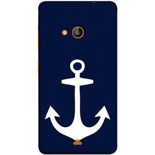 FUSON Designer Back Case Cover for Microsoft Lumia 535 :: Microsoft Lumia 535 Dual SIM :: Nokia Lumia 535 (Sea Ocean Nevy Soldiers Fighter Plains Ultrasonic )