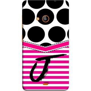 FUSON Designer Back Case Cover for Microsoft Lumia 540 Dual SIM (Beautiful Cute Nice Couples Pink Design Paper Girly J)