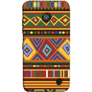 FUSON Designer Back Case Cover for Microsoft Lumia 550 (Tribal Patterns Colourful Eye Catching Verity Different )