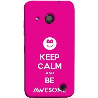 FUSON Designer Back Case Cover for Microsoft Lumia 550 (Beautiful Hearts Always Stay Silent & Be Goodto Others)