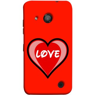 FUSON Designer Back Case Cover for Microsoft Lumia 550 (Pink Red Wallpapers Flowers Lovers Boyfriends )