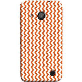 FUSON Designer Back Case Cover for Microsoft Lumia 550 (Red Glittering Foil Seamless Pattern Background)