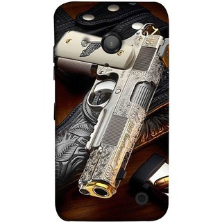 FUSON Designer Back Case Cover for Microsoft Lumia 550 (Gun Pouch Holder Loading Bullets Killing Murders )