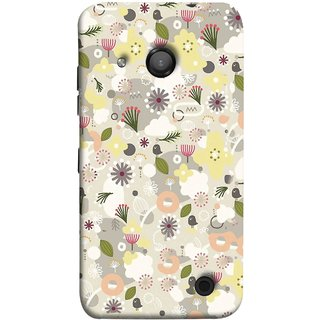 FUSON Designer Back Case Cover for Microsoft Lumia 550 (Elegant Gentle Trendy Pattern In Small Scale Flower)