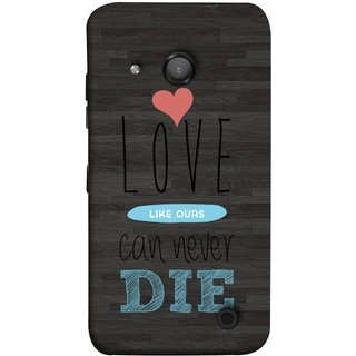 FUSON Designer Back Case Cover for Microsoft Lumia 550 (Hearts Feeling Loved With Each Other Valentine Day)