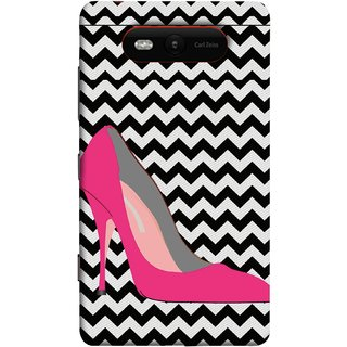 FUSON Designer Back Case Cover for Nokia Lumia 820 (High Pencil Heel For Girls Womans Professional)