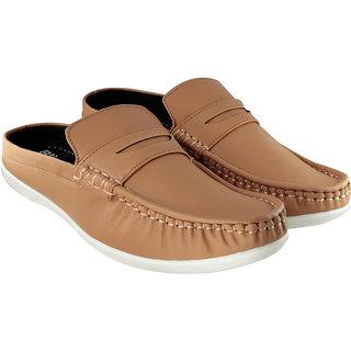buy blinder men's tan back open casual slip on loafer
