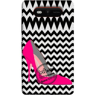 FUSON Designer Back Case Cover for Nokia Lumia 820 (High Pencil Heel For Basanti Womans Girls Dance)