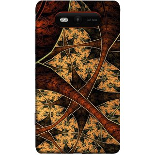 FUSON Designer Back Case Cover for Nokia Lumia 820 (Colour Canvas For Hall Bedroom Painting Intresting)
