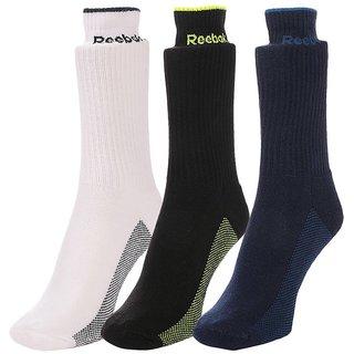 Reebok Cushion Full Length Socks - Pack of 3