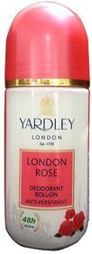 IMPORTED YARDLEY LONDON ROSE ROLL ON - 50 ML