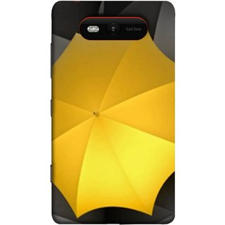 FUSON Designer Back Case Cover for Nokia Lumia 820 (Putting It All Together Get Recognised Be Different)