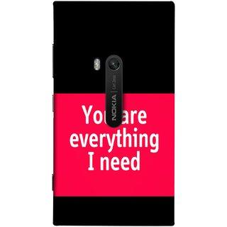 FUSON Designer Back Case Cover for Nokia Lumia 920 :: Micosoft Lumia 920 (Tu Tum Aap Mere Liye Sub Kuch Maze Vishwa )