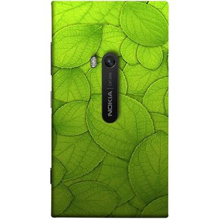 FUSON Designer Back Case Cover for Nokia Lumia 920 :: Micosoft Lumia 920 (Leaf On Water Ajwain Leaves Beautiful Nice )