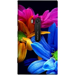 FUSON Designer Back Case Cover for Nokia Lumia 920 :: Micosoft Lumia 920 (Colourful Wow Hd Gerbera Flowers Pink Blur Orange)