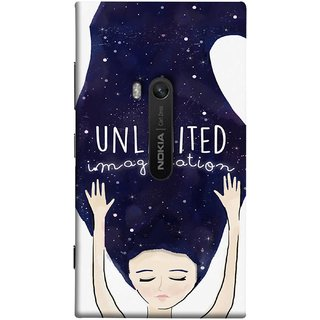 FUSON Designer Back Case Cover for Nokia Lumia 920 :: Micosoft Lumia 920 (Girls With Long Hairs See Universe Milky Way Stars )