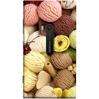 FUSON Designer Back Case Cover for Nokia Lumia 920 :: Micosoft Lumia 920 (Cool Desserts Flavors Banana Chocolate Chips)