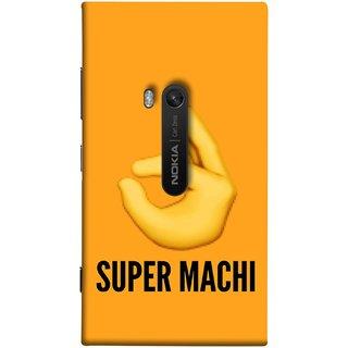 FUSON Designer Back Case Cover for Nokia Lumia 920 :: Micosoft Lumia 920 (Super Machi Video Song Allu Arjun Samantha)