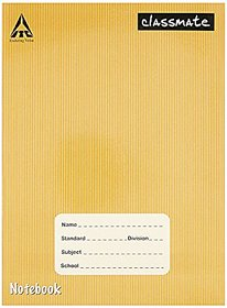 Classmate Notebook - Single Line, Soft Cover, 120 Pages (Pack of 6 Pieces)