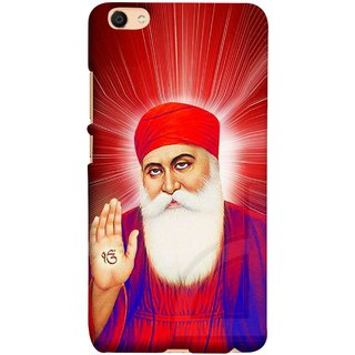 FUSON Designer Back Case Cover For Oppo F3 (Guruji Beautiful Frame God His Mission Blesses)