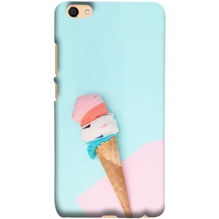 FUSON Designer Back Case Cover For Oppo F3 (Colourful Ice Cream Toy Baby Babies Chilling)