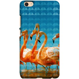 FUSON Designer Back Case Cover For Oppo F3 (Animal Birds Long Beak Beautiful Wallpaper Designs)