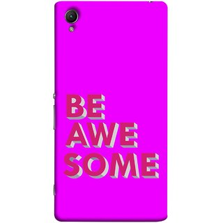 FUSON Designer Back Case Cover For Sony Xperia Z3+ :: Sony Xperia Z3 Plus :: Sony Xperia Z3+ Dual :: Sony Xperia Z3 Plus E6533 E6553 :: Sony Xperia Z4 (Make Differnece To Others Life Take Your Dreams )