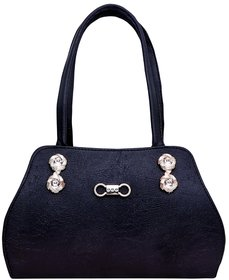 GRV Royal Women Black Handbag