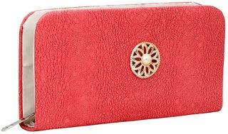 GRV Women Peach Wallet