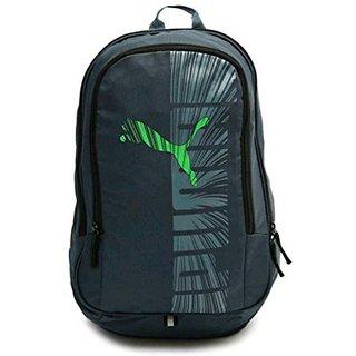 Puma Graphic Blue-Greeen Backpack