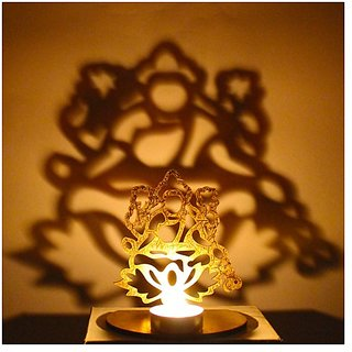 Laxmi Shadow with free Tea Light Candle Holder