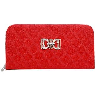 GRV Women Red Wallet
